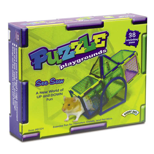 Superpet Critter Puzzle Seesaw 38pce