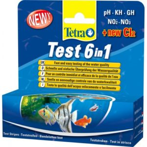 Tetra Aquarium Test Strip 6 In 1