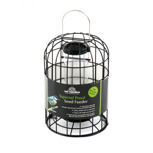 Tom Chambers Squirrel Proof Seed Feeder