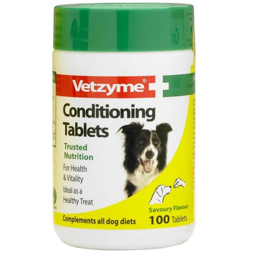 Vetzyme Dog Conditioning 100 Tablets