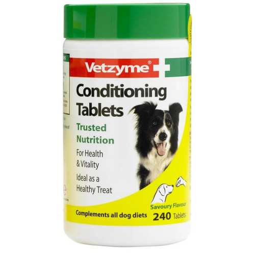 Vetzyme Dog Conditioning 240 Tablets
