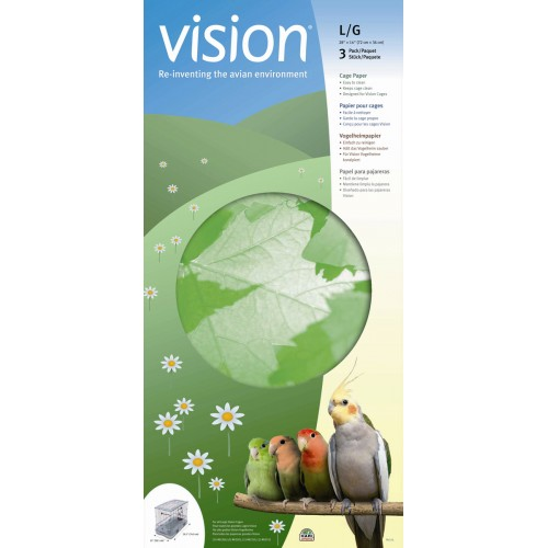 Vision Cage Paper For Large Vision Cages 83310/315