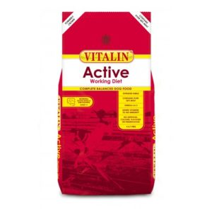 Vitalin Active Working Diet With Over 30% Meat 15kg