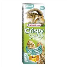 Vl Crispy Sticks Hamster & Squirrel Exotic Fruit 2pk