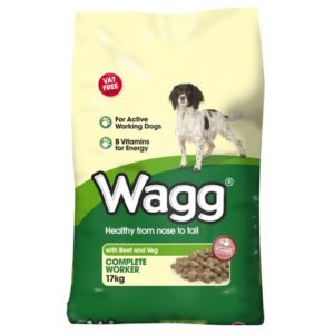 Wagg Complete Worker Beef & Veg 17kg