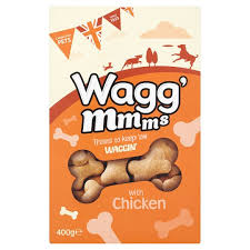 Wagg Mmms Dog Biscuits With Chicken 400g x5
