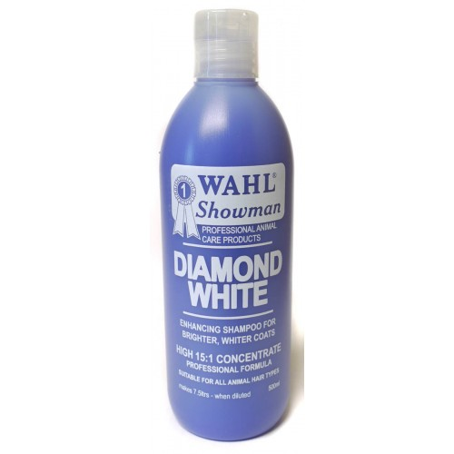 Wahl Concentrated Diamond White Shampoo 500ml