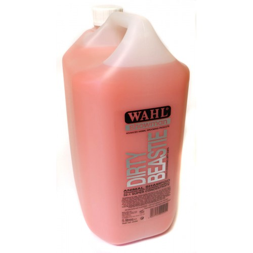 Wahl Concentrated Dirty Beastie Shampoo 5ltr