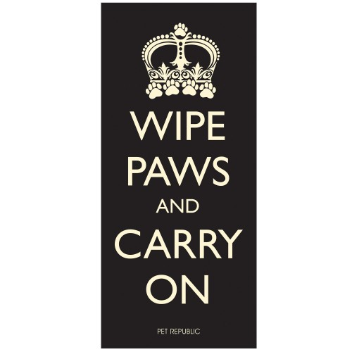 Wipe Paws And Carry On Door Mat 100x45cm
