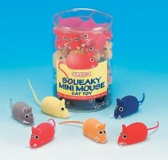 Classic Squeaky Mouse 60mm