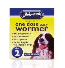 Jvp Dog Easy Dose Wormer - Size 2 Medium Breeds 2 Tablets