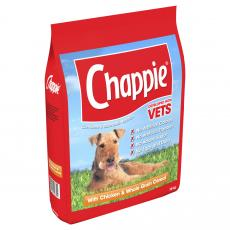 Chappie Dry Chicken And Wholegrain Cereal 15kg