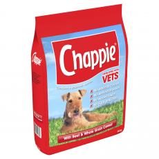 Chappie Dry Beef And Wholegrain Cereal 15kg