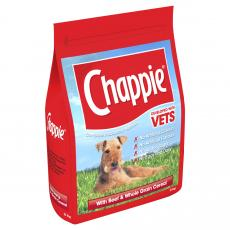 Chappie Dry Beef And Wholegrain Cereal 3kg