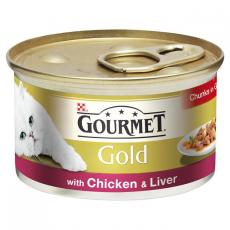Gourmet Gold Can Chicken & Liver Cig 85g
