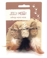 Jolly Moggy Catnip Mini Mice