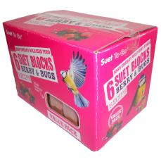 Suet To Go Blocks Berry & Bugs Value 6 Pack