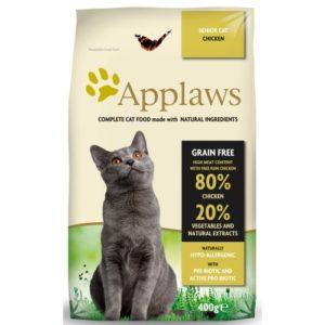 Applaws Cat Dry Senior Chicken 400g