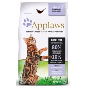 Applaws Cat Dry Chicken With Extra Duck 2kg
