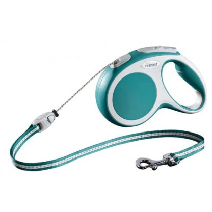 Flexi Vario Cord turquoise Small 12kg – 8m (26ft)