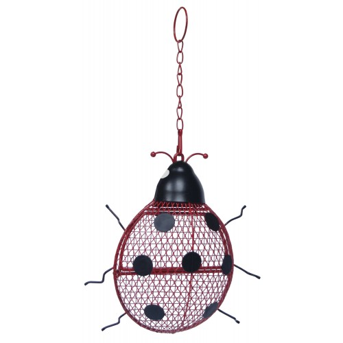 Contemporary Wid Bird Ladybird Peanut Feeder