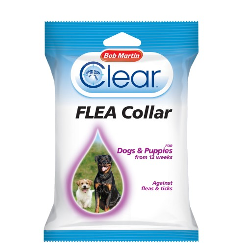 Bob Martin Clear Flea Collar For Dogs