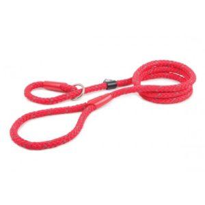 Heritage Nylon Reflective Rope Slip Lead Red 1m X150mm