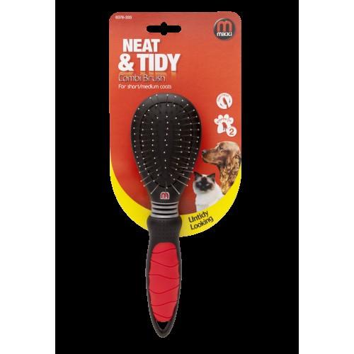Mikki Easy Grooming Combi Brush Large