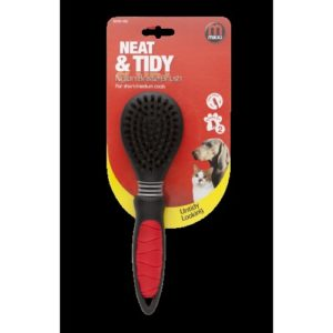 Mikki Easy Grooming Nylon Bristle Brush Large