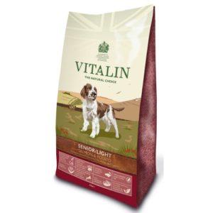Vitalin Natural Senior / Lite Salmon & Potato 12kg