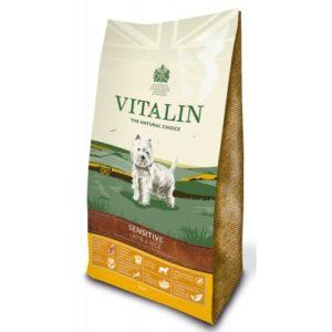 Vitalin Natural Sensitive Lamb & Rice 12kg