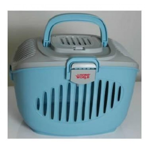 Living World Paws2go Carrier Grey Blue Shanklin Pet