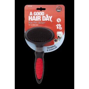 Mikki Easy Grooming Ball Pin Slicker Large