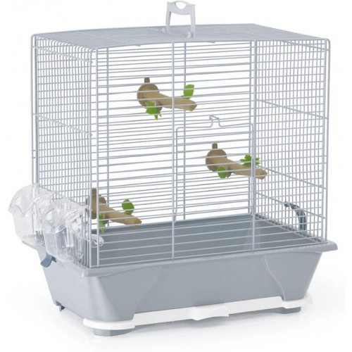 Primo 30 Bird Cage Silver Wire 42x25x41.5cm