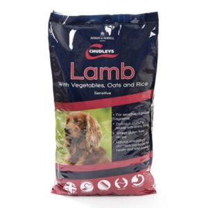 Chudleys Sensitive Lamb With Vegetables Oats And Rice 15kg