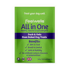 Feelwell's Benefits All In One Healthy Dog Treats 130g x10