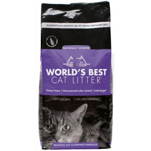 Worlds Best Cat Litter Lavender 3.18kg