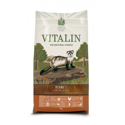 Vitalin Natural Ferret 12kg