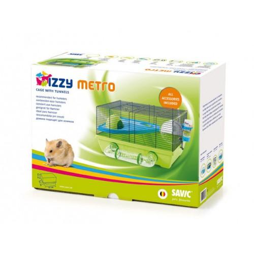 Izzy Metro Hamster Cage 50x40x28cm