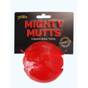 Petlove Mighty Mutts Rubber Ball Small