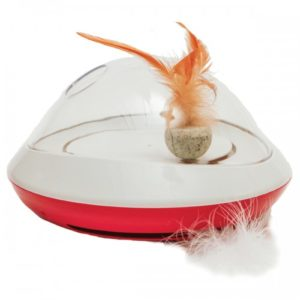 Jolly Moggy Feather Chase Toy 24x24x14cm