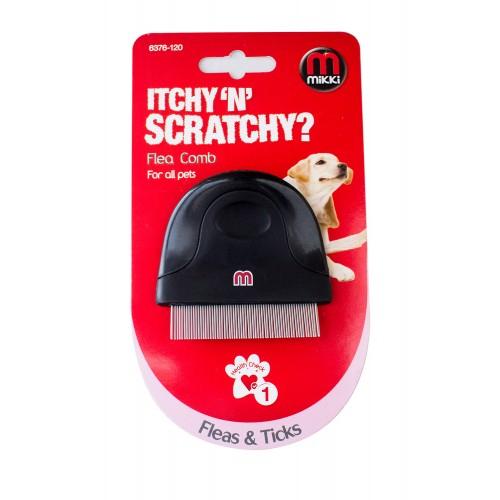 Mikki Compact Flea Comb