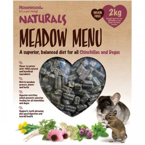 Naturals Meadow Menu Chinchilla/degu 2kg