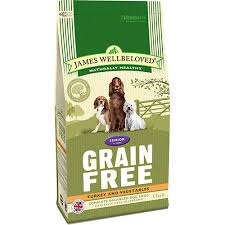 james wellbeloved Dog Senior Turkey Grain Free 10kg