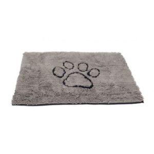Dirty Dog Doormat Grey 79x51cm