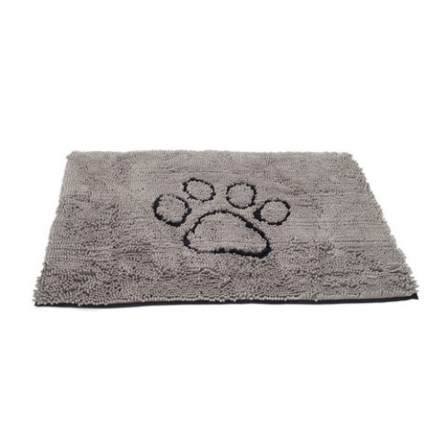 Dirty Dog Doormat Grey 79x51cm