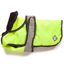 2 In 1 Hi Viz Dog Coat 25cm (10″)