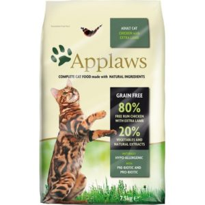 Applaws Cat Dry Adult Chicken With Lamb 2kg