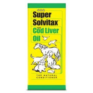Super Solvitax Pure Cod Liver Oil 400ml