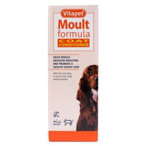 Vitapet Dog Moult Formula Coat Conditioner 150ml